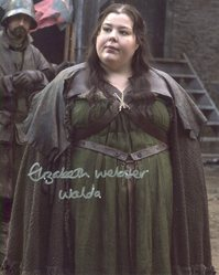 Elizabeth Webster AUTOGRAPH Game Of Thrones SIGNED IN PERSON 10x8 Photo