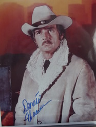"Weaver, Dennis - ""McCloud"" - authentic autograph"