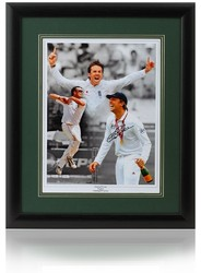 Graeme Swann Hand Signed England Ashes Cricket Montage