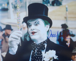 Jack Nicholson signed 11x14 photo.