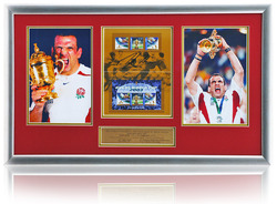 Martin Johnson hand signed Post Australia Stamp presentation
