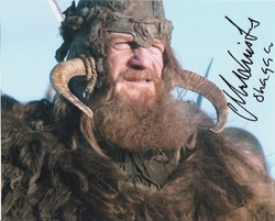 Mark Lewis Jones SIGNED IN PERSON 10x8 photo GAME OF THRONES
