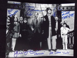 Willy Wonka and The Chocolate Factory - signed by all of the kids - Original autograph - UACC Reg.Dealer#251