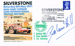 Graham Hill Signed Cover