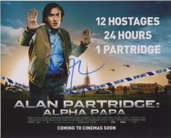 Steve Coogan Autograph ALAN PARTRIDGE signed in person 10 x 8 photo