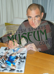 conic photo hand signed by Vinnie Jones & Paul Gascoigne