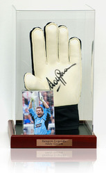 ANDY GORAM Hand Signed keepers Glove