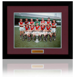 BURNLEY FC 1960 League Champions Hand Signed by 6