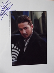LaBeouf, Shia - authentic autograph - Transformers - Eagle Eye - Disturbia