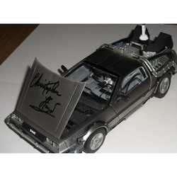 Christopher Lloyd Autograph - Signed 1/18 Delorean Back To The Future