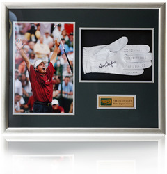 Fred Couples hand signed Golf glove presentation