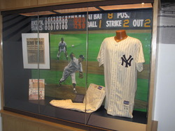 Don Larsen's New York Yankees Perfect Game Unform