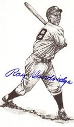 Ray Dandridge Signed Post Card