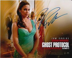 Paula Patton Signed Mission Impossible Ghost Protocol 10x8 Photo