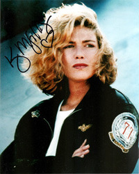 Kelly McGillis signed 10x8 photo.