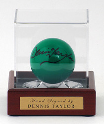 Denis Taylor hand signed Snooker Ball