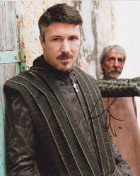 Aiden Gillen Autograph Game Of Thrones signed in person 10x8 photo