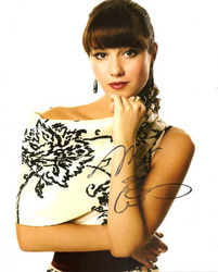 Mary Elizabeth Winstead signed 10x8 photo