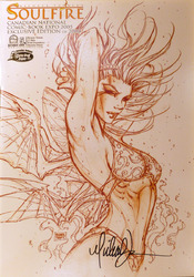 Michael Turner's Soulfire, Canadian National Comic Book Expo 2005, signed by Michael Turner