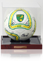 Norwich City F.C. 2011/12 Squad Hand Signed Football