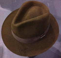 Harrison Ford signed Indy Hat