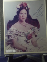 Harris, Julie - 1 - authentic autograph