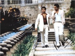 "Scarface Photos Signed Al Pacino & Paul Shenar ""Rare"""