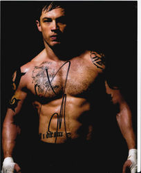 Tom Hardy Signed Warrior 10x8 Photo