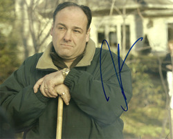 James Gandolfini signed 10x8 photo.