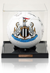 Newcastle United 1969 Fair Cup Winners Hand Signed Football Ball