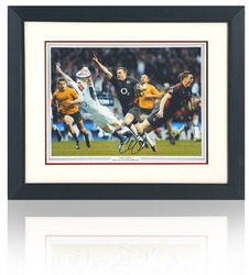 Chris Ashton hand signed montage