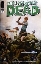 Image, The Walking Dead #1, St. Louis Comic Con Exclusive 2013 comic book, signed by Arthur Suydam.