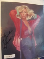Breser, Bobbie - authentic autograph