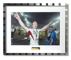 Matt Dawson hand signed 2003 Rugby World Cup Photograph