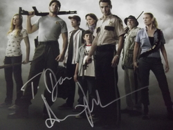 Lincoln, Andrew - authentic autograph - in The Walking Dead