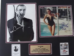 Bond - Sean Connery - Claudine Auger
