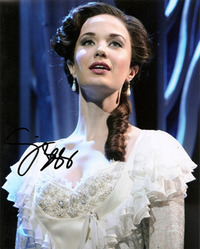Sierra Boggess signed 10x8 photo.