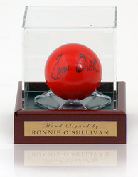 Ronnie O'Sullivan hand signed Snooker Ball