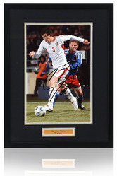 Gareth Bale hand signed Wales Photograph