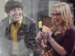 Rauch, Melissa - authentic autograph - The Big Bang Theory