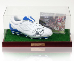 Paolo Di Canio Hand Signed Football Boot