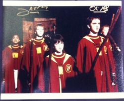 James & Oliver Phelps Signed Harry Potter 10x8 Photo