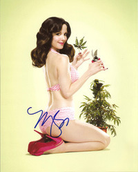 Mary Louise Parker signed 10x8 photo.