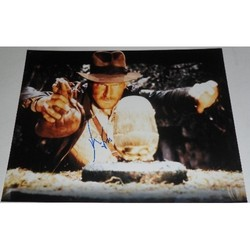 Harrison Ford AUTOGRAPH Indiana Jones SIGNED IN PERSON 16x12 Photo