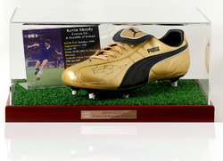 Kevin Sheedy hand signed Football boot