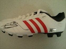 Zidane Boot signed