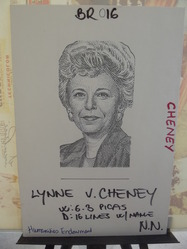 Cheney, Lynne - wife of Vice President