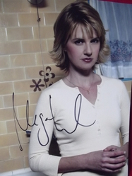 Ward, Megan - Authentic autograph- Party of Five - Melrose Place