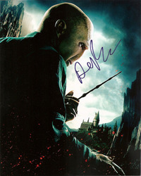 Ralph Fiennes signed 10x8 photo