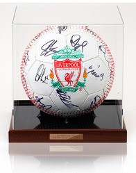 Liverpool F.C. 2007/08 Official Squad Hand Signed Football